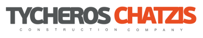 TYCHEROS-CHATZIS CONSTRUCTION COMPANY LOGO