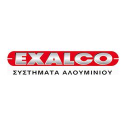 Λογοτυπο επιχείρησης Exalco Συστήματα Αλουμινιου